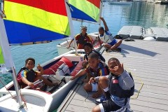 Northlands Boys at Royal Bermuda Yacht Club 2021