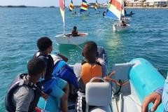 Northlands Boys at Royal Bermuda Yacht Club 2021